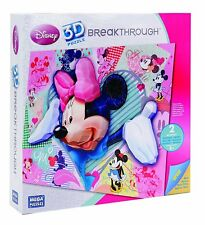 INCROYABLE Mega Bloks 50695 - MICKEY Puzzle 3D Disney Minnie 250 PIECES 60/45 cm