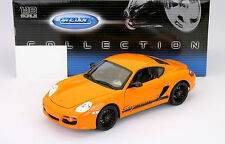 PORSCHE CAYMAN (987 C) S orange 1:18 Welly