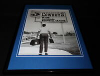 Dallas Cowboys Join the NFL Framed 11x17 Photo Poster Display