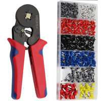 New Crimper Pliers Self-adjustable Wire Ferrule Terminal Connector Crimping Tool