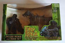 New ListingToyBiz Lord Of The Rings Fellowship figure RingWraith & Horse rider Set Lotr