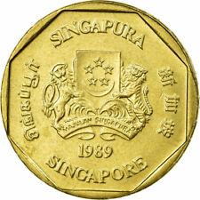 [#680960] Coin, Singapore, Dollar, 1989, British Royal Mint, AU(55-58)