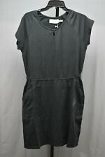 Aventura Clothing Tansy Organic Cotton Blend Dress, Women's Size L, Black NEW