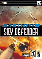 AIR BATTLES SKY DEFENDER - Classic Rare Combat Flight Sim PC Game - New in Box!