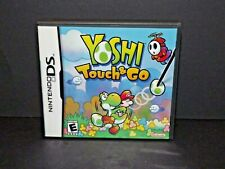 Yoshi Touch & Go Game Nintendo DS 2005 Booklet Case Included Used (z)