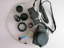 Pentax ME + SMC pentax-M 1.7 50mm full set vintage analog camera