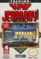 SUPER JEOPARDY Nintendo NES Game Cartridge