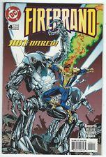 Firebrand #4 May 1996 DC Comics Brian Augustyn/Sal Velluto Good Condition