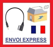 Cable auxiliaire adaptateur mp3 MDI AMI pour VW SIROCCO TIGUAN TOUAREG CADDY
