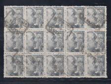 ESPAÑA (1940) BLOQUE 15 USADO SPAIN - EDIFIL 930 (1 pta) FRANCO