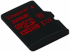 Kingston 32 GB Micro SD SDHC UHS-I Speed Class 3 U3 Memory Card (Card Only)