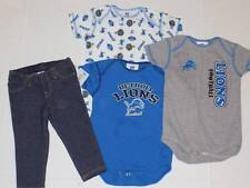 detroit lions football boys tee shirt lot size 18 months s/s tops jeggings