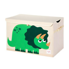 3 Sprouts Utcshp Collapsible Toy Chest Storage Bin for Kids Playroom, Sheep