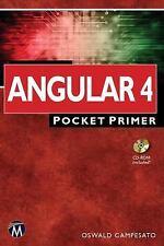 Angular 4 Pocket Primer, , Campesato, Oswald, New, 2017-07-12,