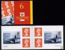 GB QEII  PM2 Submarine booklet 2001 MNH