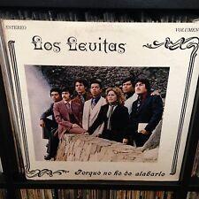 Los Levitas Porque No He De Alabarle LP Martha Cervantes Daniel Garcia Gospel NM