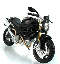 Maisto 1:12 Ducati Monster 696 Motorcycle Bike Model Black New in Box