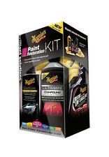 Meguiar´s Set Paint Restoration Kit 9-tlg Shampoo Knete Wax Lackreiniger Pad