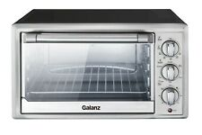 Convection 6 Slice Countertop Toaster Oven Stainless Steel Brand New
