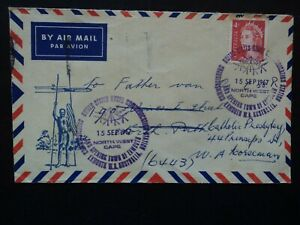 Australia envelope 1967 special PMK US Communications Station Town of Exmouth