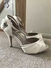 Next Ivory Wedding Shoes, Size 6, Worn Once