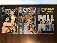 Wonder Woman # 0 85 & 100 Lot of 3 DC Comics 1994 1995 Bolland Cover Art
