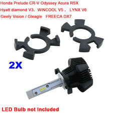 2x H1 LED Headlight Bulb Holder Adapter for Honda Prelude CR-V Odyssey Acura RSX