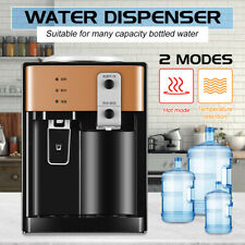 Electric Hot and Cold Water Cooler Dispenser Home Office Use Desktop 3-5 Gallon