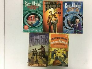Lot Of 5 Robert A Heinlein Books
