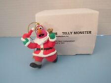 Sesame Street Telly Monster Grolier Christmas Ornament 1993 Jim Henson