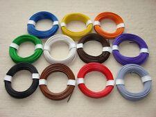110m LIY Kabel Litze 0,14 mm² flexibel Kupferschaltlitze 11 Farben Set -11 X 10m