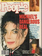 People Magazine Michael Jackson's Baby February 1994 NO ML 012918nonr