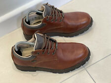 Brasher Walking Shoes Mens Brown Leather Size Uk 9 Event Waterproof VGC Winter