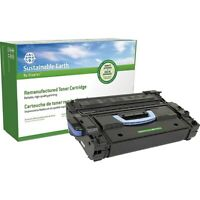Sustainable Earth Remanufactured Toner Cartridge Replacement for HP 43X (Black)