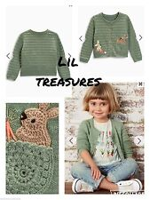 Next Girls' 100% Cotton Jumpers & Cardigans (2-16 Years)