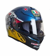 Graphic Pinlock Ready Multi-Composite AGV Motorcycle Helmets