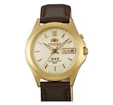 Orient Watch 3 Star FEM5C00QC EM5C00QC Men's Automatic Watch Gold Tri-Star