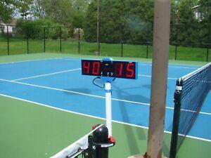 Digital Tennis Score Keeper with remote control, electronic scoreboard