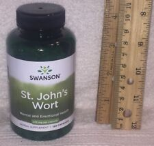 St John's Wort from Swanson.  120 capsules, 375 mg each