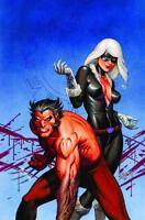 Wolverine & Black Cat: Claws Poster  - 24 x 36 - Marvel Comics Linsner