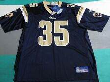 NWT Los Angeles Rams Aeneas Williams Blue Reebok Jersey Adult XL