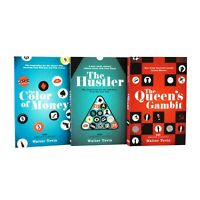 Queens Gambit Series 3 Books Adult Collection Paperback Set By Walter Tevis