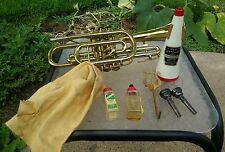 Besson 'Stratford' vintage cornet, Made in England