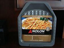 ANOLON 11 x 13 Suregrip Bakeware Crisper Silicone Handles Nonstick French Fries