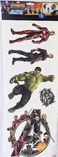 AVENGERS INFINITY WAR wall sticker 5 Marvel decals superhero Black Panther Hulk