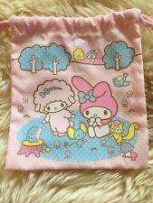 Rare Sanrio My Melody Drawstring Bag From Japan 🇯🇵
