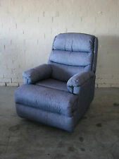 Hospital Blue Recliner Chair