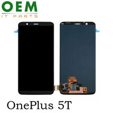 For OnePlus 5T 1+5T Display LCD Touch Screen Digitizer Amoled Assembly New Black