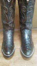 mens cowboy boots 6 1/2 full quilt ostrich pointed toe