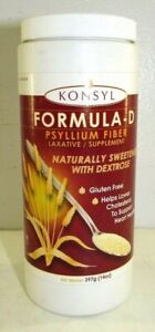 KONSYL Formula-D Psyllium Fiber Laxative/Supplement 14 oz or 28 oz